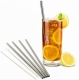 Stainless Steel Straws (STRAIGHT) - set of 4