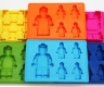 Silicone LEGO like MINIFIGURE chocolate / ice / jelly mould - NEW DESIGN