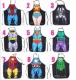 Superhero Apron for KIDS - Avengers Darth Vader Justice League